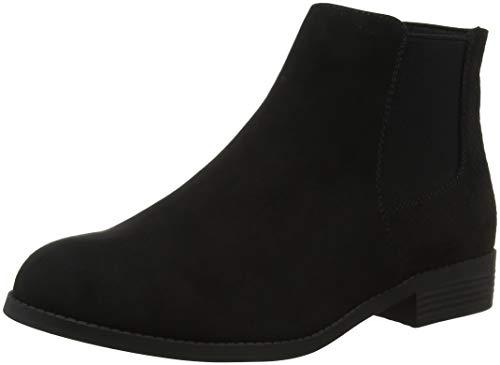 Stivaletti Black Black Look Wide Donna 1 Amber Foot New 64IZwxT4