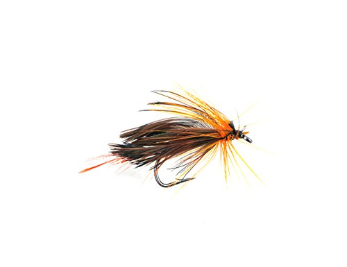 Wgcd fly fishing hook bass salmon trouts flies lures dry for Fly fishing lures for bass