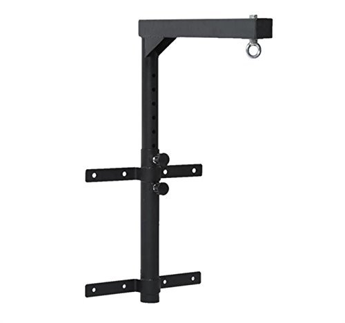 Bracket Punching Bag Wall Mount Boxing Stand Hanger Adjustable Height With Ebook by MRT SUPPLY
