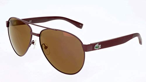 Lacoste Unisex L185S Red Matte One Size (Sunglasses Lacoste Red)