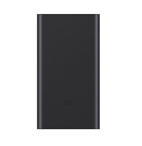 Price comparison product image Xiaomi 10000mAh Mi Power Bank External Battery Charger Pack Portable Charger (Xiaomi 10000mAh power bank 2,black)