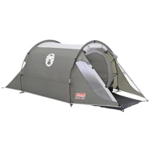 Coleman Coastline 2 Compact Tent – Green/Grey, Two Person