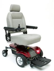 Pride Jazzy Select Elite Power Chair - Blue - JSELECTE (Chair Select Jazzy Power Elite)