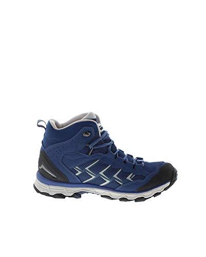 de Silber Fashion para FB de Lady GTX Azul Cuero Azul Mujer Boots Senderismo Activo Zapatillas Azurblau W4YaYZnqw
