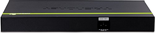 TRENDnet 48-Port 10/100/1000 Mbps Gigabit Web Smart Switch with 4 shared SFP Slots, Private & Voice VLAN Support, IPv6, Fanless, Rack Mountable, TEG-448WS by TRENDnet (Image #1)