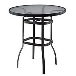 Bar Height Tables - Round - Aluminum Patio Furniture