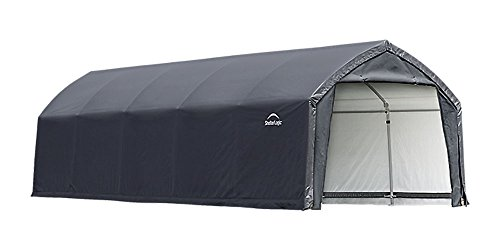 AccelaFrame HD 12 x 25 ft. Shelter Gray by ShelterLogic