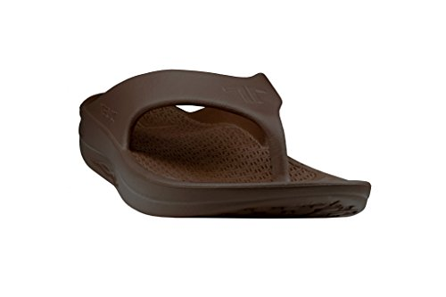 Telic Herenmode Flip Flop Sandaal (made In The Usa) Espresso Bruin