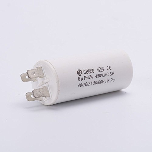 Anycell Running Capacitor 4 pins Motor Start Capacitor For Electric Machine CBB60 250V/450V 6uF Capacitor For Water Pump QB-60.IDB-35.PM-45