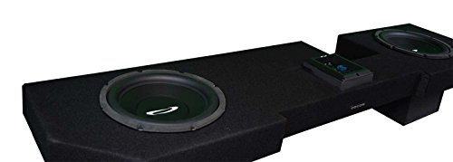 OBCON - Loaded and Amplified Dual 10'' Sealed Speaker Box for 2002 - 2008 Dodge Ram Quad Cab by OBCON (Image #1)