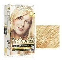 loral coloration rcital prfrence 10 scandinavie blond trs trs clair - L Oreal Coloration Blond