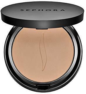Sephora Lightweight Foundation - SEPHORA COLLECTION Matte Perfection Powder Foundation 24 Warm Beige 0.264 oz