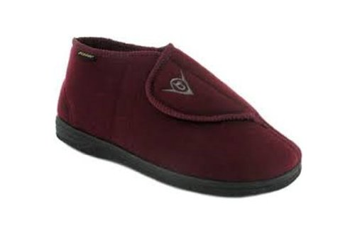 Ability Superstore Dunlop Albert Chaussons Bordeaux Taille 9