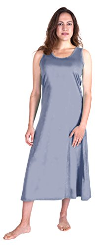 Cool-jams WICKING LONG TANK NIGHTGOWN (S-2X) (Large (12/14), Lilac)