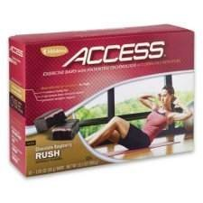 Access Exercise Bars Chocolate Raspberry Rush – 10 X 1.05 Oz