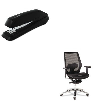 KITALEKE4218SWI54501 - Value Kit - Best K8 Series Ergonomic Multifunction Mesh Chair (ALEKE4218) and Swingline Standard Strip Desk Stapler (SWI54501) by Best