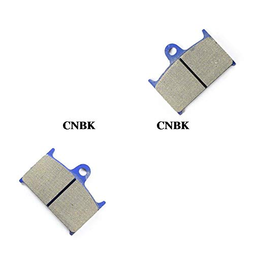 (CNBP Front Left Brake Pads Set for Triumph Rocket 2300 111 Classic/Touring 2004-2009 Rearsemi Metallic)