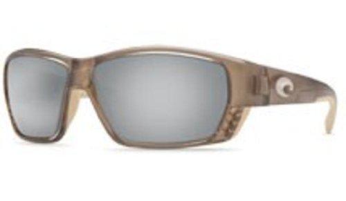Costa Del Mar Sunglasses - Tuna Alley- Glass / Frame: Crystal Bronze Lens: Polarized Silver Mirror Wave 580 Glass