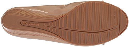 Cole 40mm Haan Maple Women's Emory Braid Pump Patent Wedge Sugar rXqnrAx0T