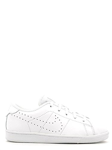 Nike Jungen Tennis Classic Prm (PS) Low-Top Blanco (Blanco (White / White))