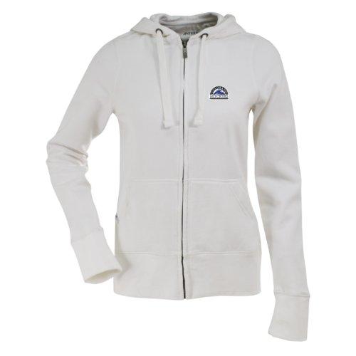 MLB Colorado Rockies Women's Signature Hood, White, Large