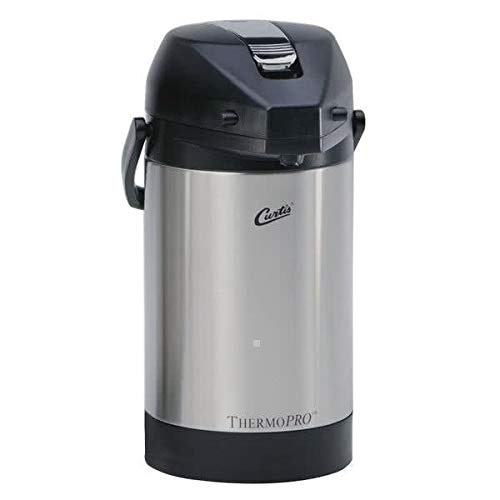 Curtis TLXA2501S000 2.5 Liter Stainless Low Profile Lever Airpot Liner CASE of 6 (Airpot Low Profile)