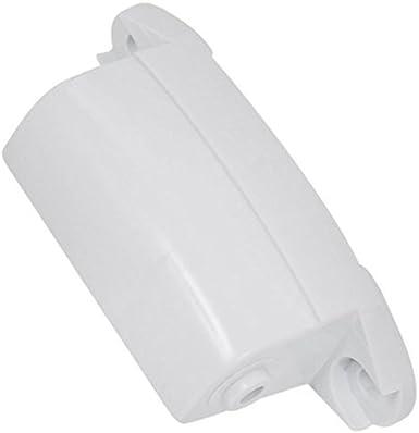 Hotpoint Bisagra de puerta de secadora, plástico (blanco)