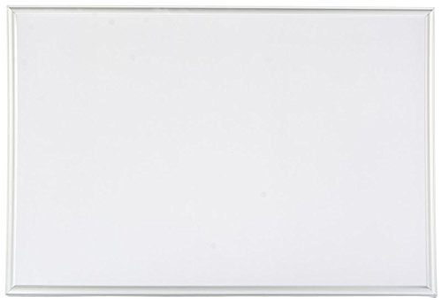 Displays2go 24 x 36-Inches Whiteboard Dry Erase Board with Aluminum Frame, Wall Mount Hardware Included (NWH2436) (Whiteboard Wall Mount Kit)