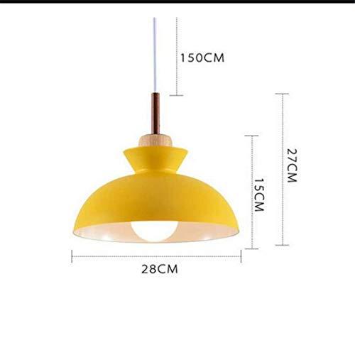 Zykang Wall Lampcolorido Moderno Restaurante Café Sala De Jantar Iluminação Luzes Pingente De Metal + Madeira E27 Titular Decoração Da Sala De Jantar Pingente Lâmpadas