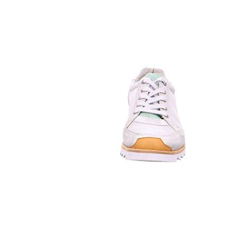 cordones para Yellow Multi mujer 22081 Cab Zapatos White de qHC7HIw