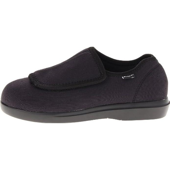 Propet Cush N Foot Sneaker Donna Marrone Sand Nero black 41 5