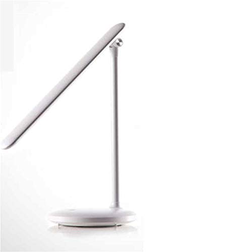 USB Rechargeable Type, led lamp Eye Protection, Desk Students Learn to Plug in Electric Desk lamp White