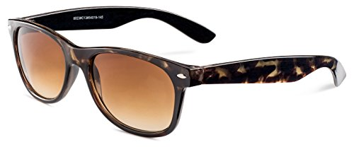 Havana Frame/ Brown Gradient Lens Stylle Vintage Wayfarer - They Where Are Sunglasses