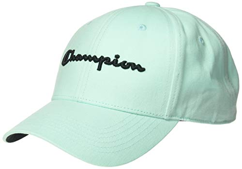 Champions Knit Hat - Champion LIFE Men's Classic Twill Hat, Waterfall Green, One Size