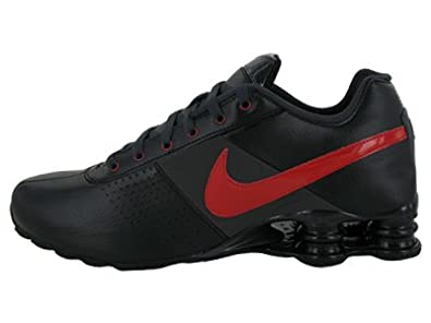 best service aa5fe e999d Amazon.com   Nike Shox Deliver Mens Running Shoes Black Sport  Red-Anthracite 317547-062-9.5   Shoes