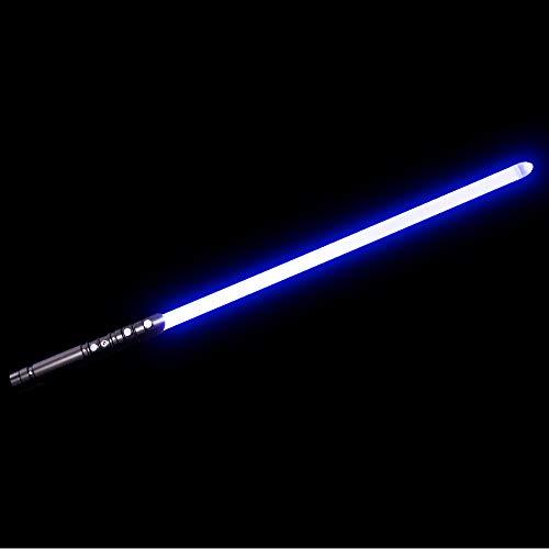 YDD Yddsaber Fx Lightsaber Toy Star Wars Saber Force Lightsaber with Sound and Light, Metal Hilt (Black hilt Blue Blade) by YDD (Image #6)