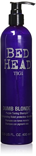 TIGI Bed Head Dumb Blonde Purple Toning Shampoo, 13.5 (Bed Shampoo)