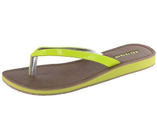 Beppi - Sandalias de Material Sintético para mujer Amarillo - amarillo
