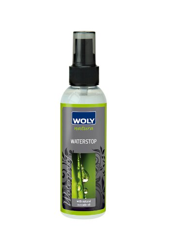 Woly Natura Waterproof, Water Repellent for Designer Leather and Suede Shoes, Handbags and Clothing. Made with Natural Ingredients.
