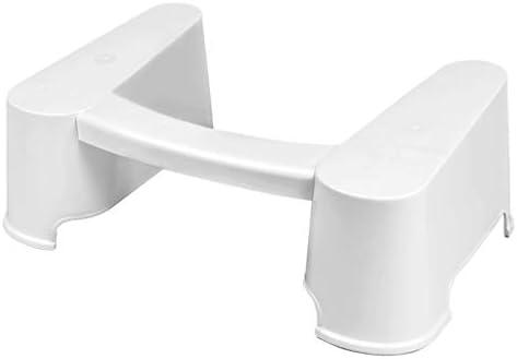 トイレスツール56.3 * 36.9 * 19.7cmフットスツールバスルームプラスチックトイレスツール増加オスマン