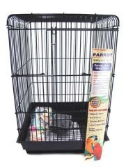 Bird Life Penn Plax Starter Kit Cage with Accessories for Small Parrots (Starter Bird Cage)
