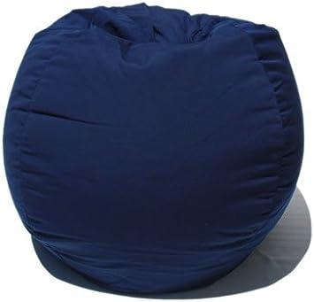 Sunbrella Indoor/Outdoor Bean Bag Chair In Navy Blue