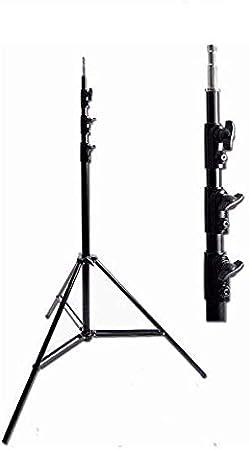 2X 4m Light Stand Ardinbir Photo Studio 13 ft 400cm Heavy Duty Spring Cushioned Studio Light Stand