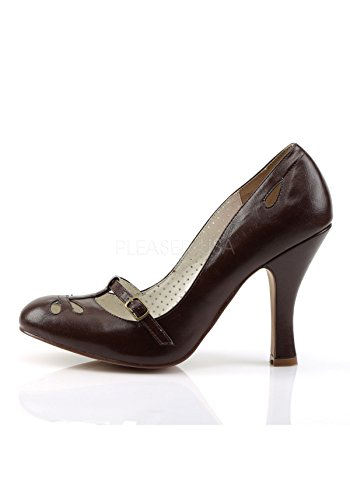 Marrone Leather Smitten Up Pin Brown D Pin Colpito Ecopelle Couture Couture 20 D Up Faux 20 qwExROaZ