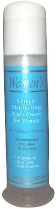 Women's Touch Progesterone Moisturizing Body Cream 2oz Pump (Cruelty Free)