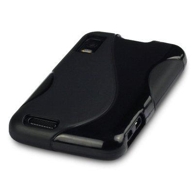Motorola Atrix 4G Gel Case - Black