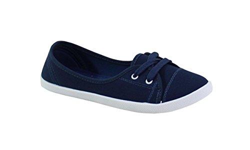 Blue Stringate Shoes By Basse Scarpe P6pxIq