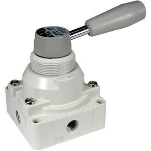 SMC VH202-N02 hand valve 1/4 npt s&b pt