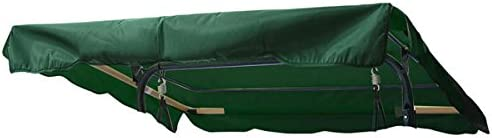 Replacement Swing Canopy Cover in Green – 6.37 Foot