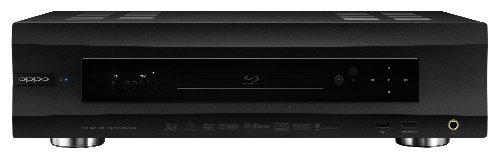 OPPO BDP-105D Universal Audiophile 3D Blu-ray Player Darbee Edition (Black)